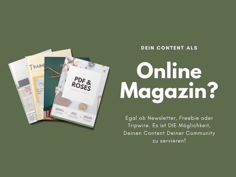 Online Magazin PDF Support