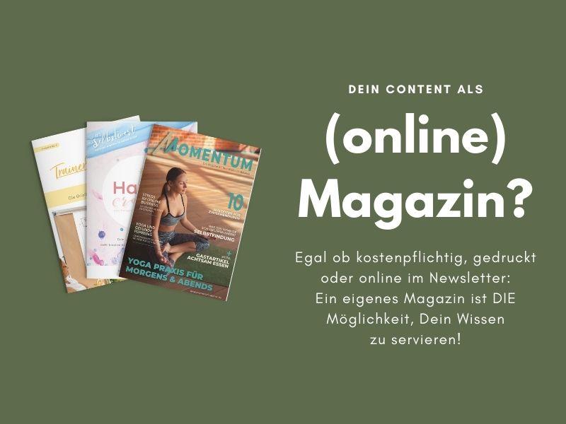 Online Magazin erstellen lassen PDF and Roses Service