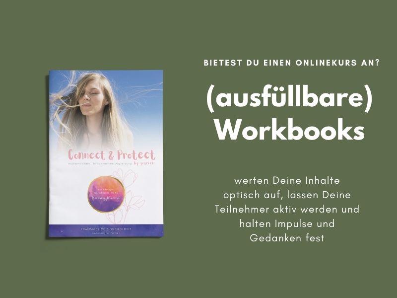 Workbook fuer deinen Kurs PDF Service PDF and Roses