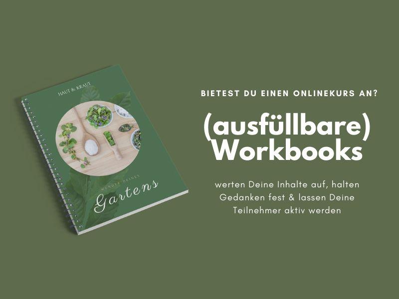 Mockup ausfüllbare Workbooks