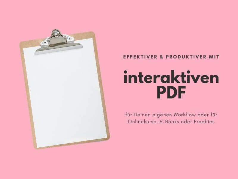 Interaktive PDF erstellen lassen